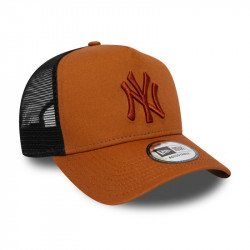 NEW YORK YANKEES ESSENTIAL A FRAME TRUCKER ROUILLE