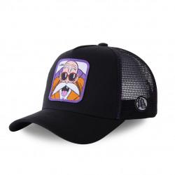 casquette dragon ball z noir et violet